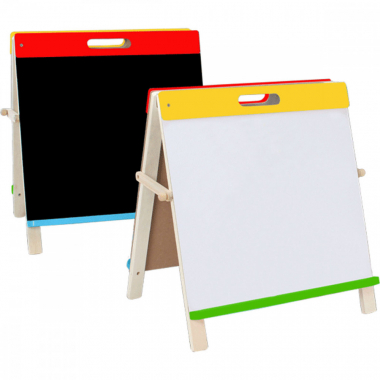 Доска магнитно-маркерная/меловая А2 (44*44см) деревянная рамка deVENTE 8071907
